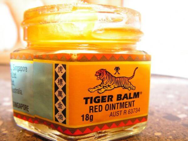 baume du tigre rouge pour traiter sciatique